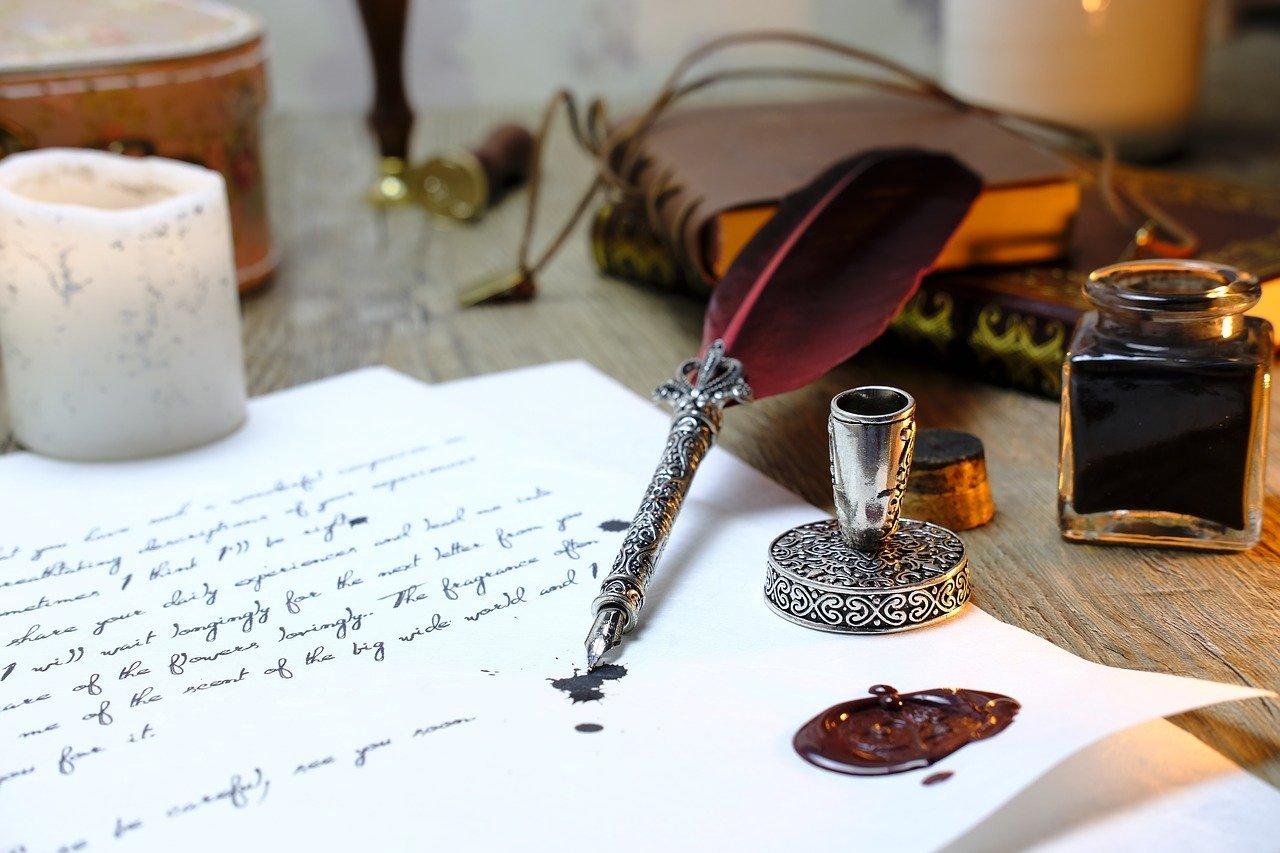 feather, write, communicate